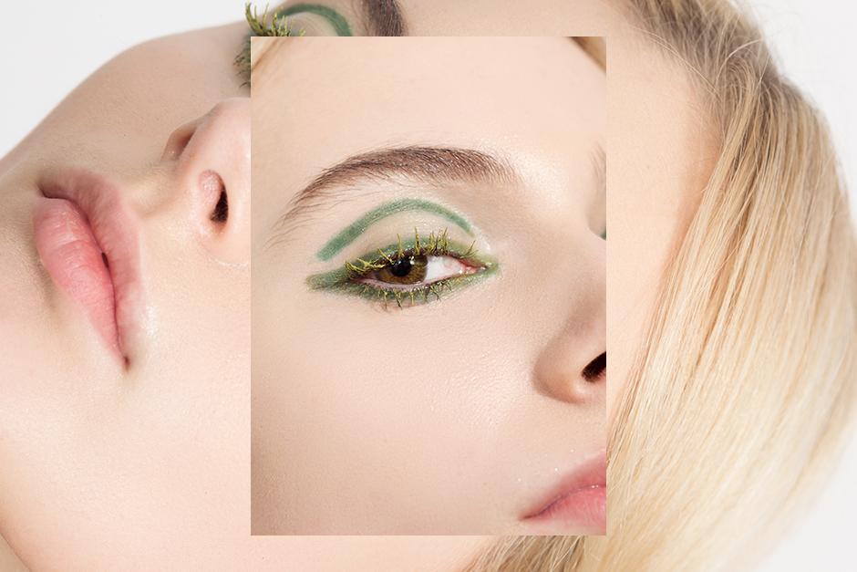 Монохромный макияж: 5 эффектных образов . Изображение № 1.