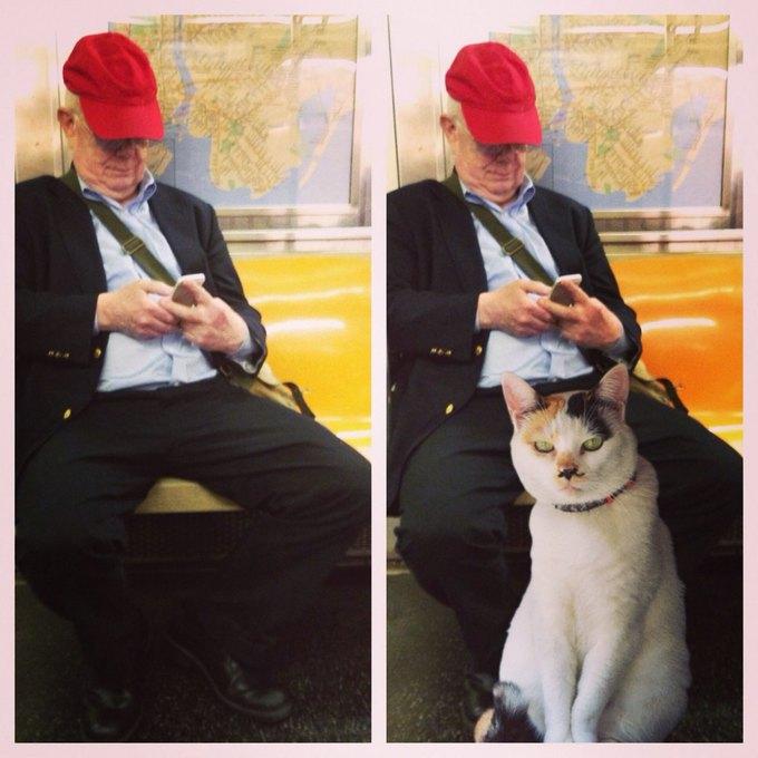 Открытие века: Почему мужчины занимают два места в метро. Изображение № 7.