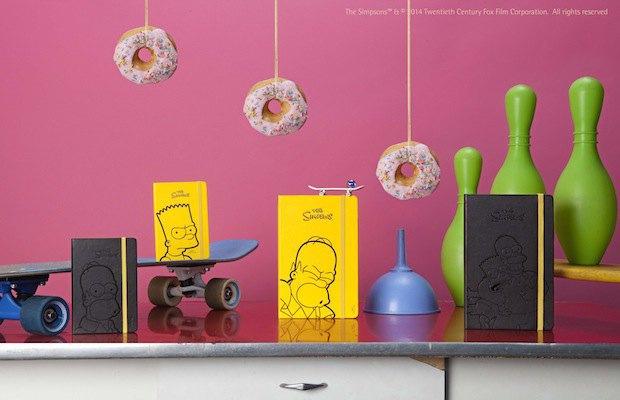 Moleskine выпустила специальную серию к юбилею «Симпсонов». Изображение № 3.