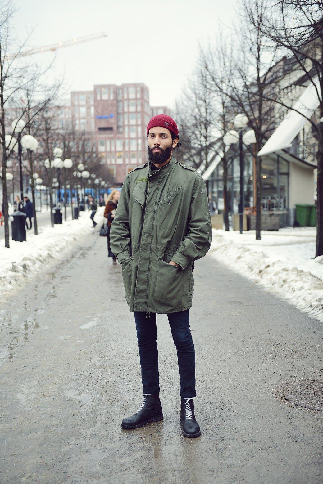 Шубы и горох на Stockholm Fashion Week. Изображение № 17.