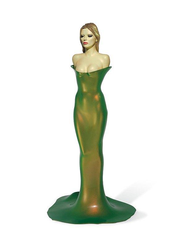 Работу Аллена Джонса «A model Model» приобрели за $215 тысяч. Изображение № 1.
