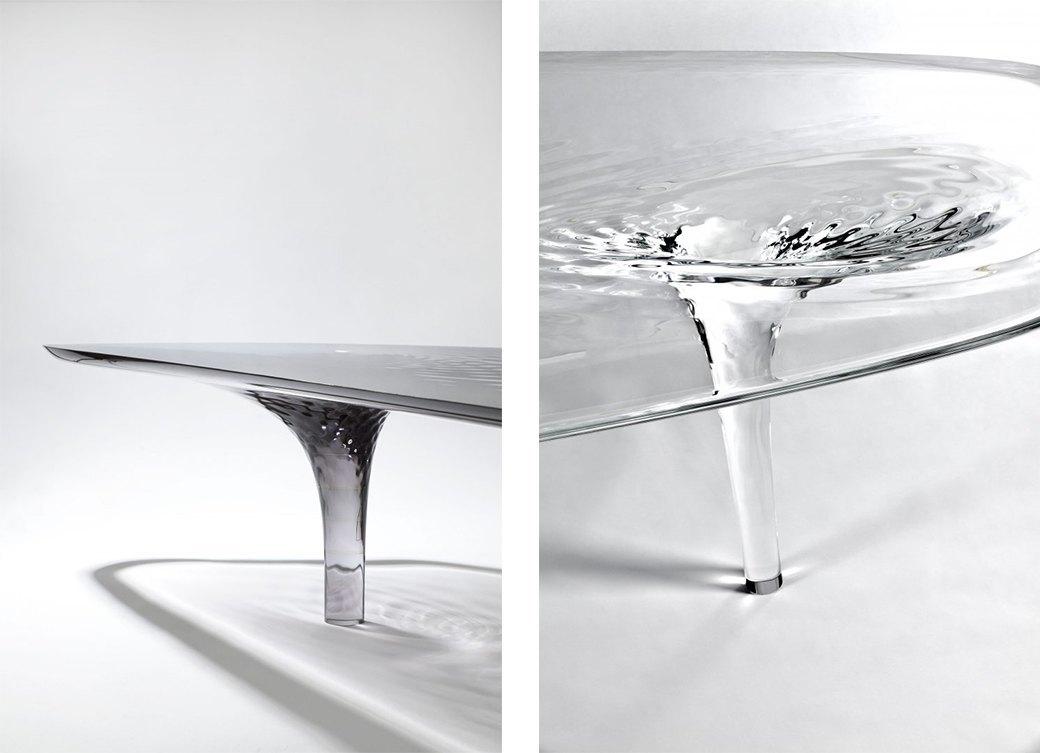 Коллекция «ледяной» мебели Захи Хадид. Изображение № 4.