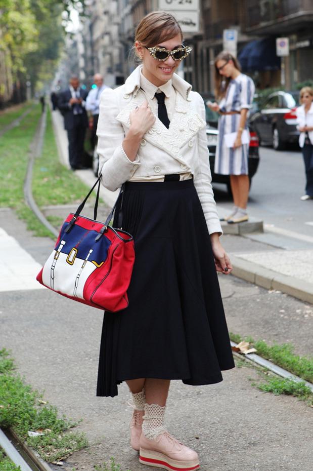Streetstyle: Неделя моды в Милане. Изображение № 28.