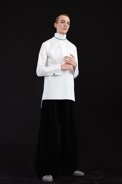 Нежный возраст:  Блузы и рубашки  с высоким воротом. Изображение № 9.