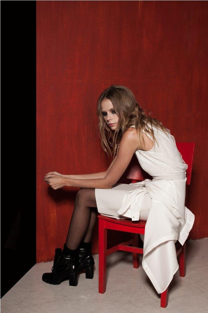 Платья и юбки в бельевом стиле в лукбуке Daria Bardeeva . Изображение № 15.