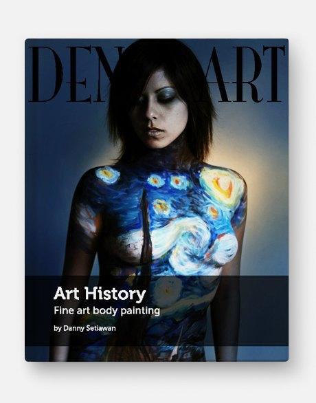 10 красочных альбомов  и книг о боди-арте. Изображение № 10.