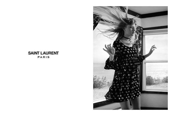 Звезда «Любви» Гаспара Ноэ и сын Килмера снялись в рекламе Saint Laurent. Изображение № 14.