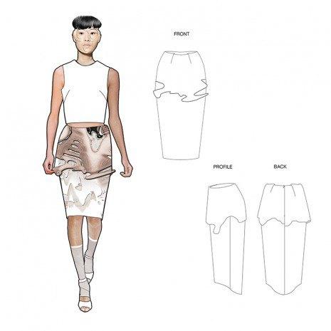 Эскизы коллекции участницы Fashion Scout Kiev Дины Линник . Изображение № 3.
