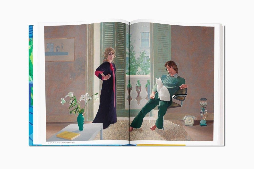 Гигантский альбом Taschen с работами Дэвида Хокни. Изображение № 2.