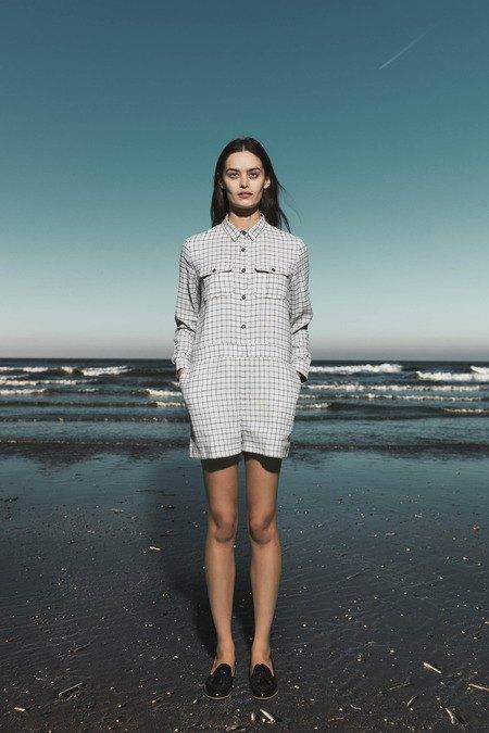 Леопардовые пальто и кружевные юбки в лукбуке Sea. Изображение № 25.