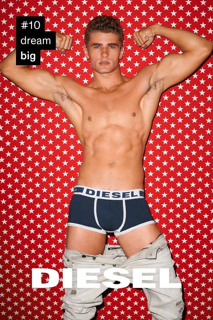 Терри Ричардсон снял «вдохновляющую» кампанию для Diesel. Изображение № 10.