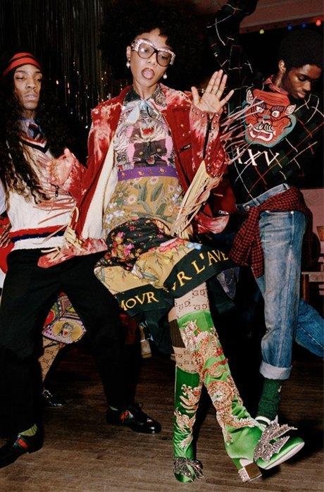 Танцуют все: Кампания Gucci, вдохновлённая 60-ми. Изображение № 11.