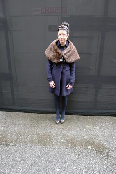 Изображение 9. Milan Fashion Week: день пятый – луки.. Изображение № 9.
