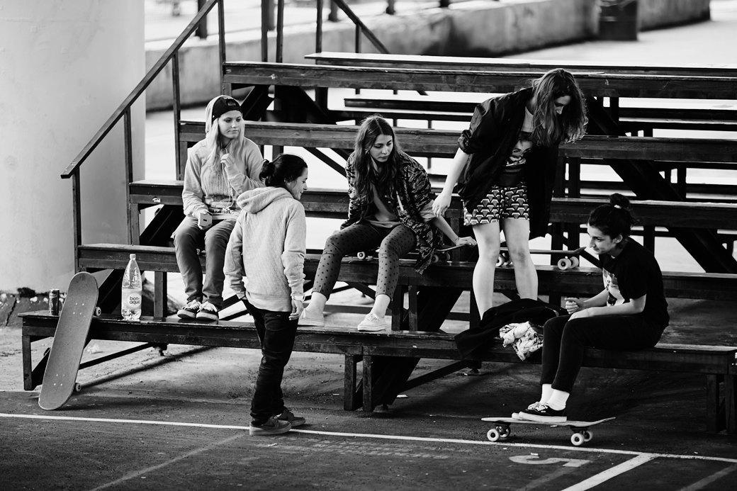 Женский пул:  Девушки на скейте. Изображение № 11.