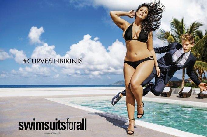 В журнале Sports Illustrated впервые появится модель plus size в бикини. Изображение № 1.