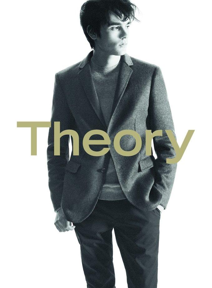Сын Алена Делона стал лицом новой коллекции Theory. Изображение № 5.