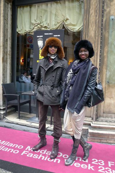 Изображение 15. Milan Fashion Week: день пятый – луки.. Изображение № 14.