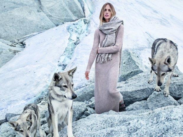 Новый лукбук Mango: Саша Пивоварова, Монблан и волки. Изображение № 5.
