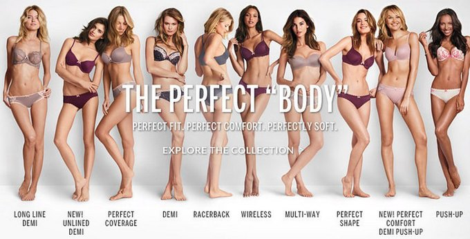 Старый слоган Victoria's Secret. Изображение № 1.