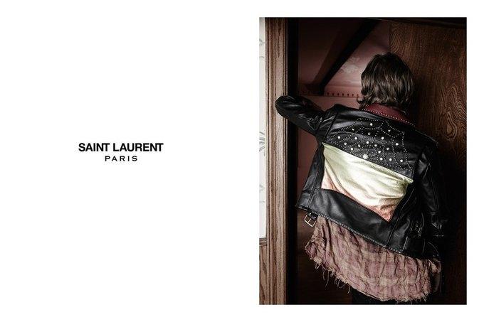 Звезда «Любви» Гаспара Ноэ и сын Килмера снялись в рекламе Saint Laurent. Изображение № 7.