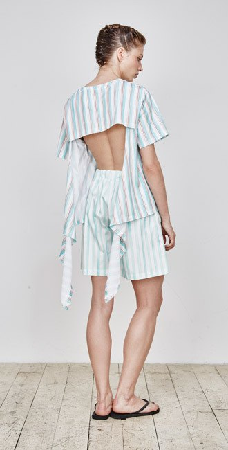 Пижамы, сетка и «Интурист» в новом лукбуке Walk of Shame. Изображение № 6.