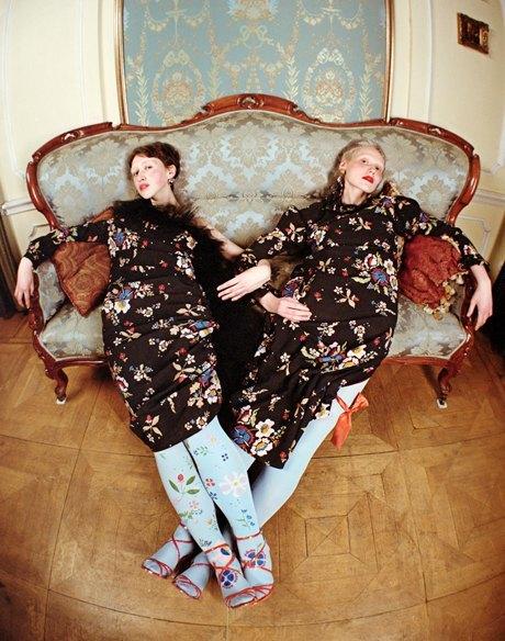 Съёмка Юлдус Бахтиозиной для Naya Rea по мотивам пьесы «Три сестры». Изображение № 4.