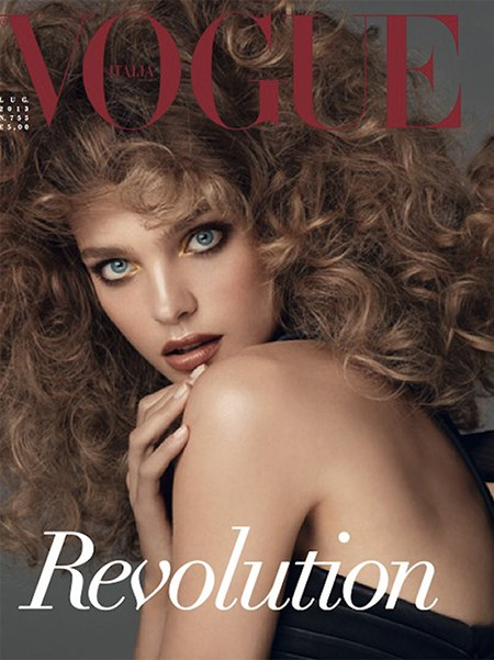 Стивен Мейзел отметил юбилей работы с Vogue шестью обложками. Изображение № 1.