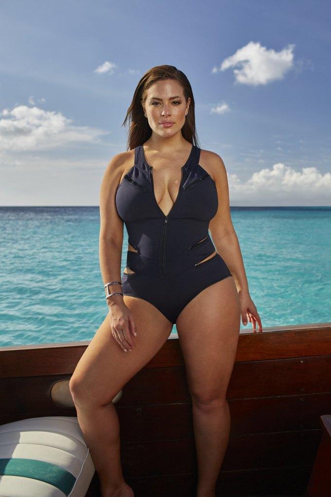Эшли Грэхэм создала коллекцию купальников  для Swimsuits for All. Изображение № 6.