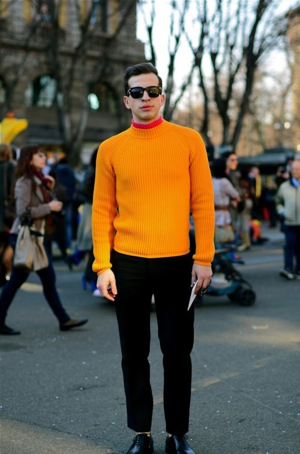 Неделя моды в Милане: Streetstyle. Изображение № 13.