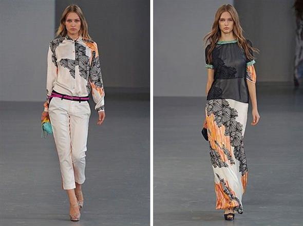 Показы на London Fashion Week SS 2012: День 4. Изображение № 5.