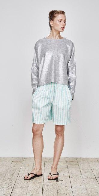 Пижамы, сетка и «Интурист» в новом лукбуке Walk of Shame. Изображение № 3.