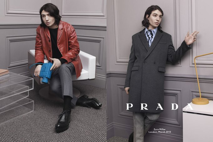 Кристоф Вальц и Бен Уишоу снялись для кампании Prada. Изображение № 2.