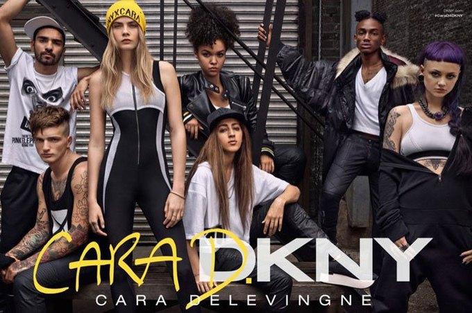В рекламе CaraD4DKNY снялись Кара Делевинь и модели из Instagram. Изображение № 2.