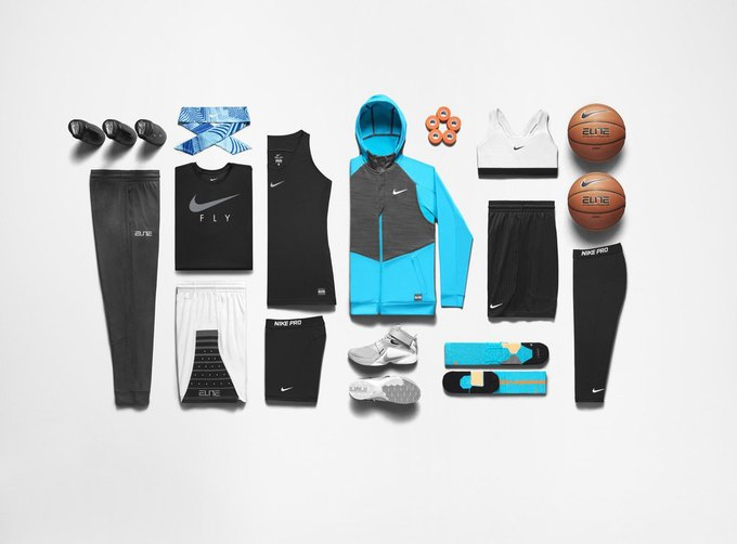 Nike выпустили коллекцию женской баскетбольной одежды. Изображение № 4.