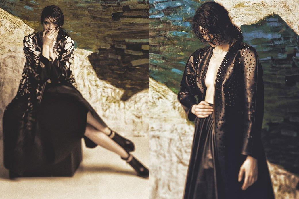 Скульптурные платья с перфорацией Atelier Kikala. Изображение № 2.