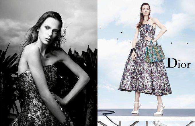 Стелла Теннант в весенне-летней кампании Dior. Изображение № 1.