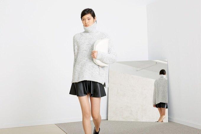 Кася Струсс, пальто и клетка в ноябрьском лукбуке Zara. Изображение № 3.