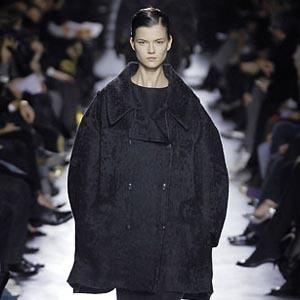Парижская неделя моды: Показы Kenzo, Celine, Hermes, Givenchy, John Galliano. Изображение № 38.