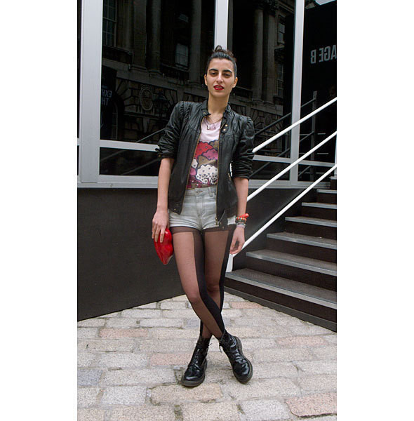 London Fashion Week: день первый — луки. Изображение № 24.