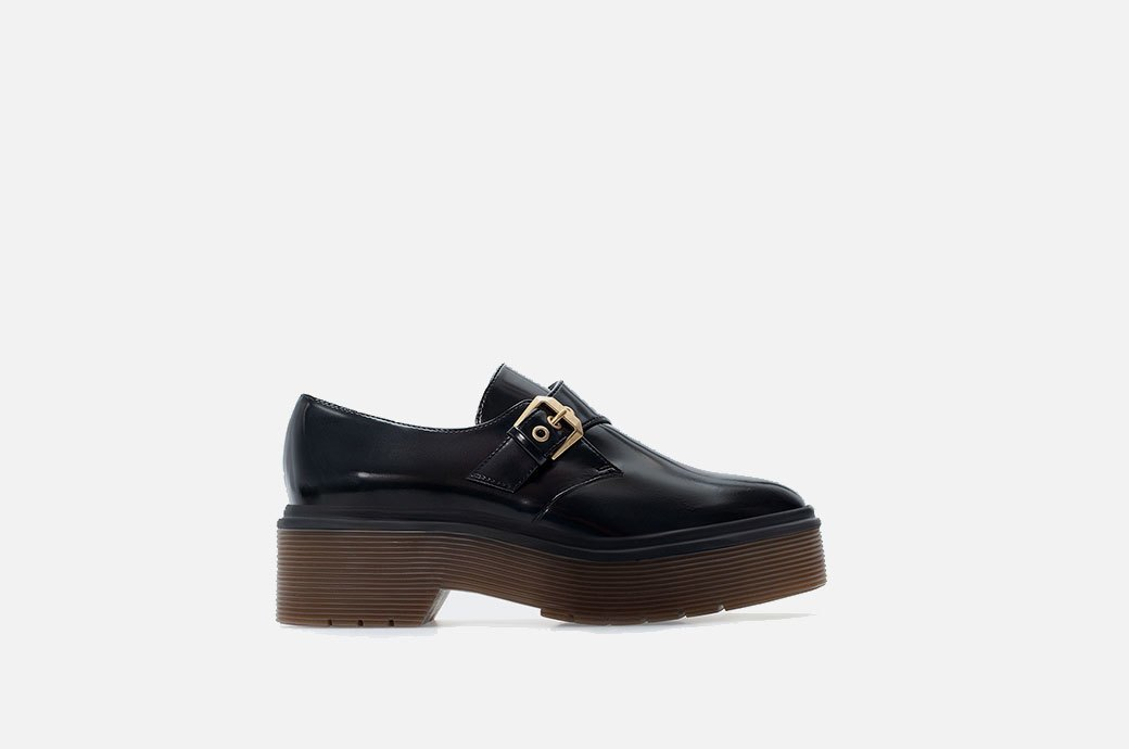 Бери повыше:  12 пар осенней обуви  на платформе. Изображение № 1.