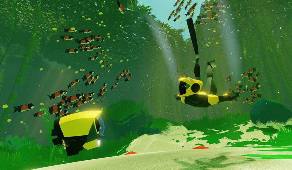 Видеоигра ABZÛ: Медитативное путешествие в глубины океана. Изображение № 3.