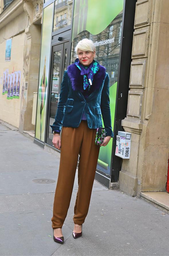 Неделя моды в Париже: Streetstyle. Изображение № 46.