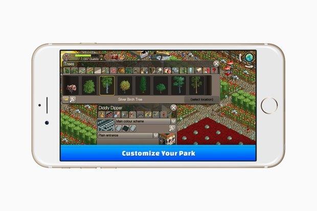 90-е на смартфоне: Культовая игра Roller Coaster Tycoon. Изображение № 4.