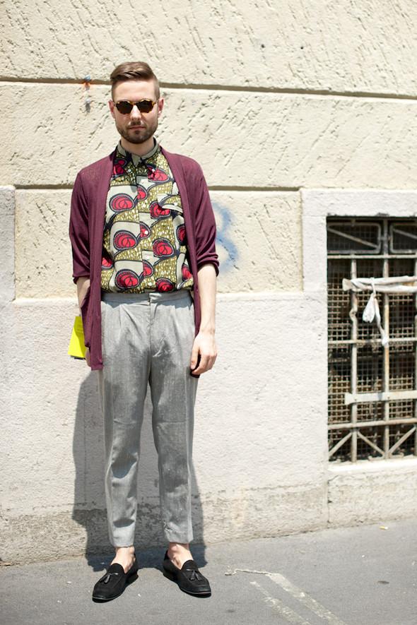Стрит-стайл: Неделя мужской моды в Милане. Изображение № 30.