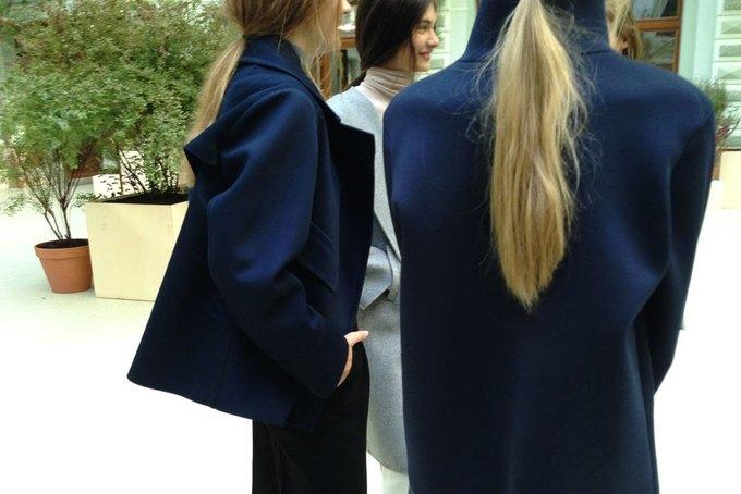 Объемные пальто и клетка в осеннем лукбуке Zara. Изображение № 10.