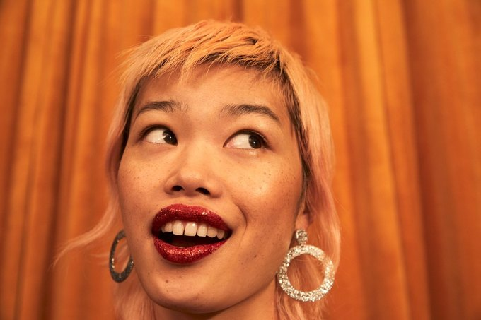 60-летняя модель снялась  в лукбуке Monki . Изображение № 7.