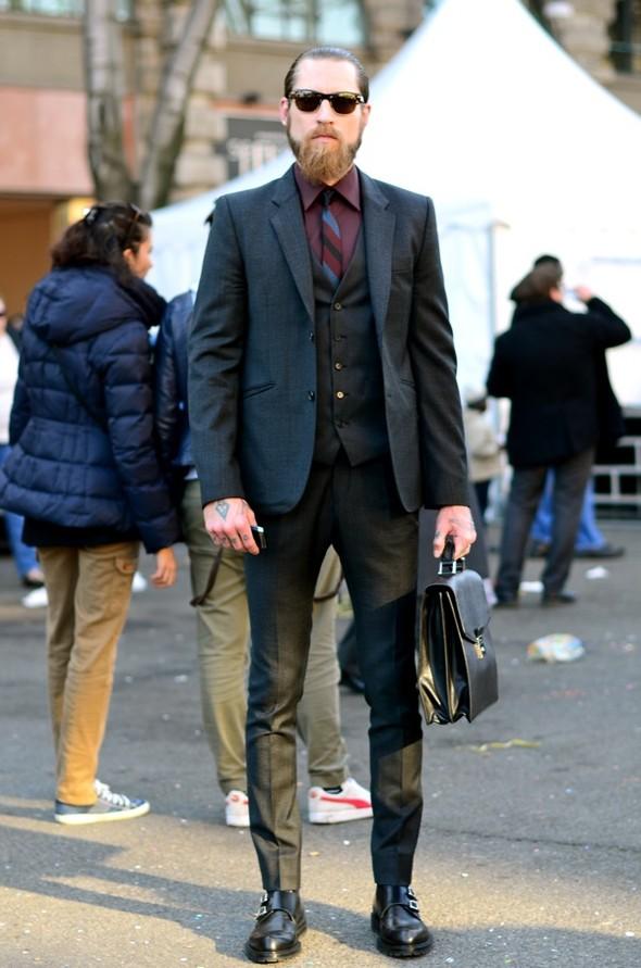 Неделя моды в Милане: Streetstyle. Изображение № 15.