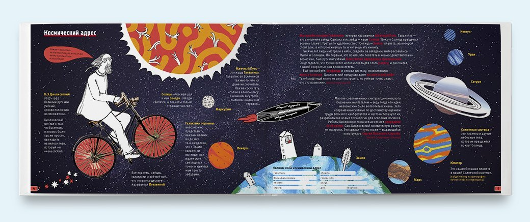 Земля в иллюминаторе: Захватывающие книги  и альбомы о космосе. Изображение № 7.
