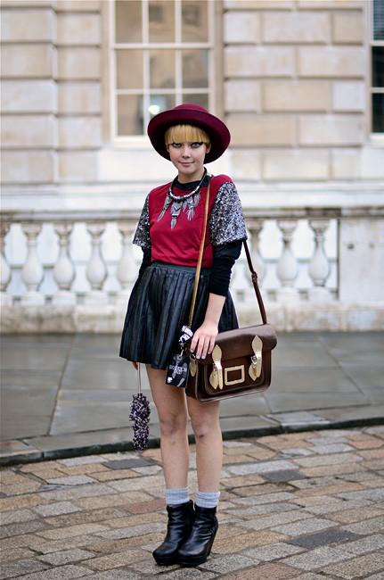 London Fashion Week: Уличный стиль, часть 1. Изображение № 30.