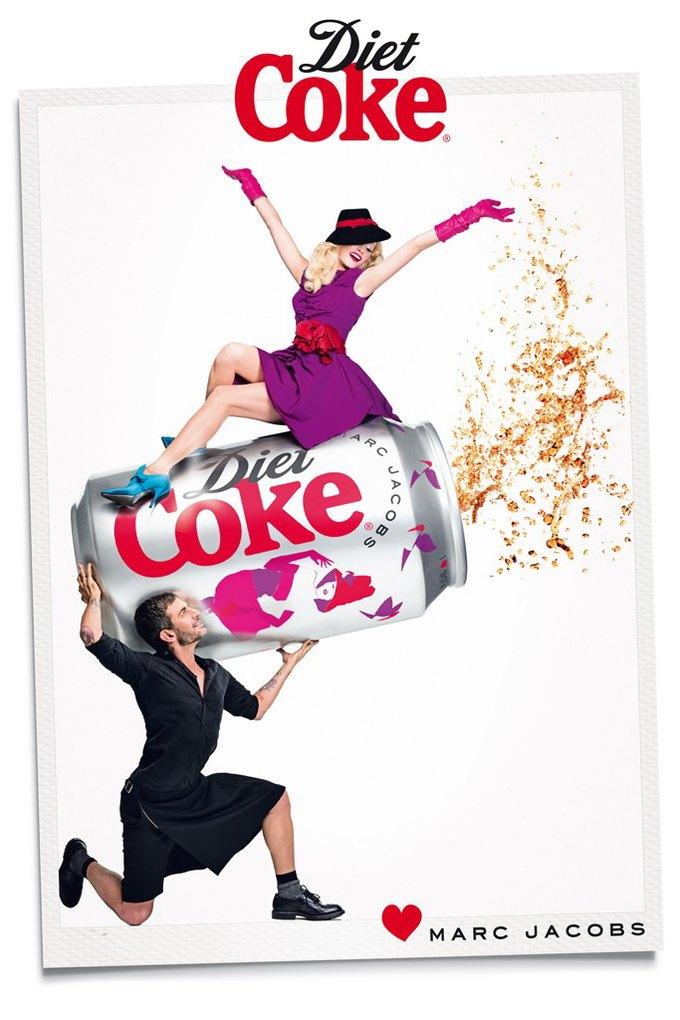 Вышел новый ролик Марка Джейкобса для Diet Cola. Изображение № 4.